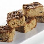 Apple and Cranberry Cake Topped with Hazelnuts and Pecans