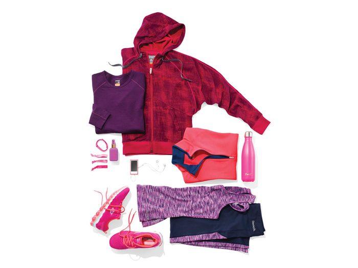 gear for walking