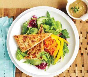 Cashew-Ginger Tofu Salad