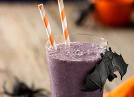 Dark and Gloomy Blueberry Smoothie