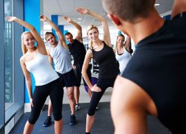 group fitness class gym