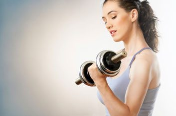 gym fitness weights