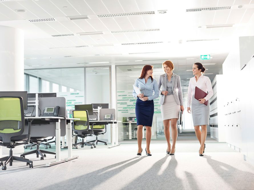 Walking meetings help you stay active