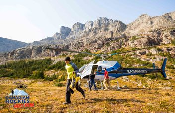 8. Canadian Rockies Heli Run