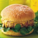 Herbed Chicken and Apple Burgers