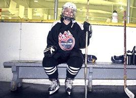 A new kind of hockey mom