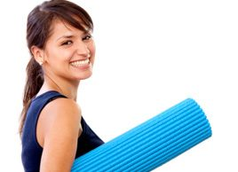 workout fitness exercise mat