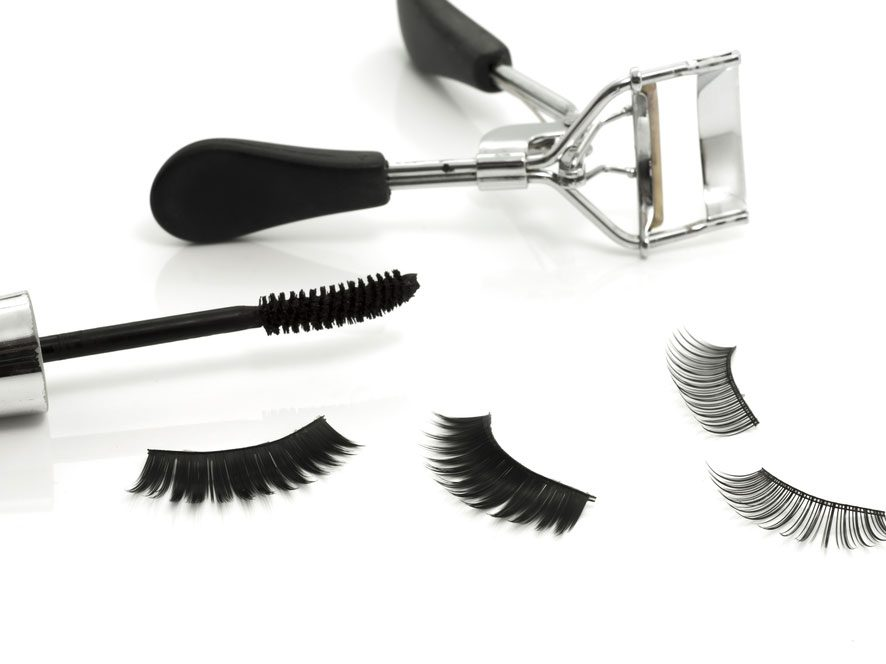 Fake a Full Fringe with False Eyelashes: Our How-To Tips