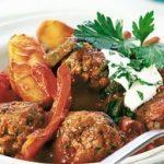 Hungarian Chicken Meatballs