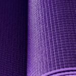 yoga mat abstract