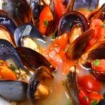Mussels with Saffron and Fennel
