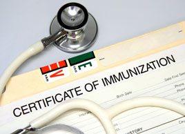 8 immunizations for adults