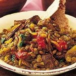 Indian Lamb with Spiced Lentils