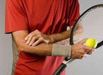 tennis elbow injury