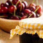 Brioche Peanut Butter and Cherry Jam Sandwiches