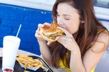 junk food burger