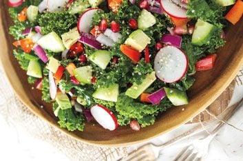 My Go-To Kale Salad