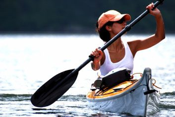kayak race summer