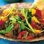 Keema Curry with Cucumber Raita