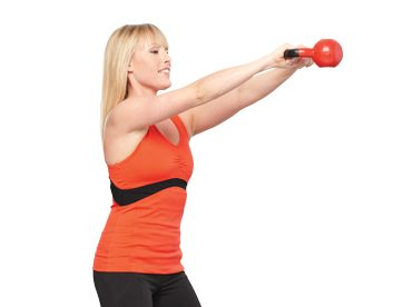 10-Minute Tuneups: The kettlebell workout video