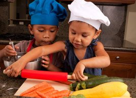5 easy meals to make with your kids