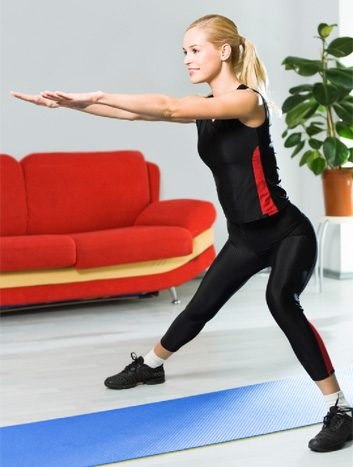 lateral lunge slide