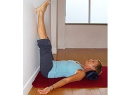 yoga pose of the month beat stress and tension with legs
