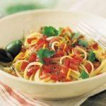 Linguini with Tomato Sauce