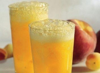 mango peach fizz