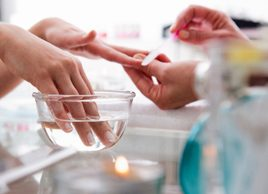 manicure nail health