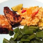 Meatless Monday: Perch with Saffron Rice