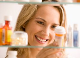 Here's a quick way to spring-clean your medicine cabinet