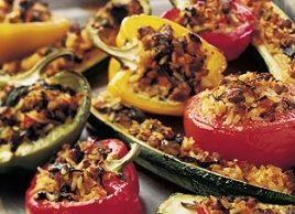 Mediterranean Stuffed Vegetables