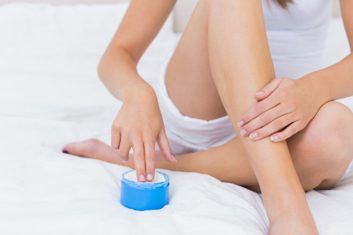 moisturizing skin