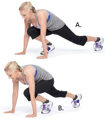 Mountain Climbers: 1 Minute