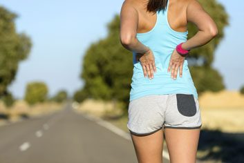 muscle pain workout back