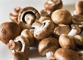 Stuffed Mushroom Caps