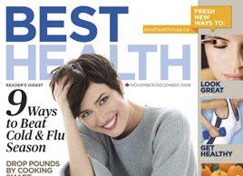 Best Health Magazine: November/December 2008