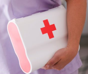 What a nurse keeps in her first-aid kit