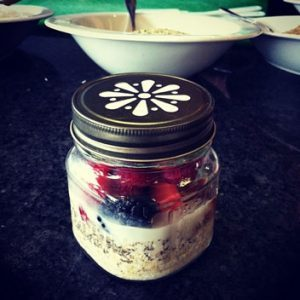Healthy-Hair Breakfast Recipe: Soaked Oatmeal To Go