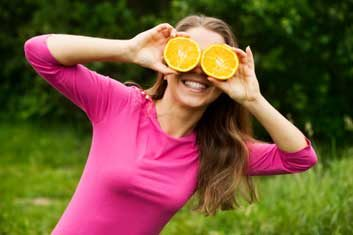 oranges eye health