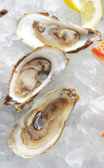 P.E.I. oysters