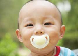 baby pacifier oral health