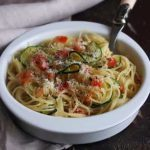 Meatless Monday: Quick and Easy Vegetable Pesto Pasta