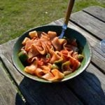 Meatless Monday: Fettuccine Arrabiata