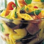 Pasta and Chicken Salad with Basil