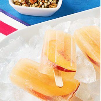 Sweet Summer Recipe: Peachy Cream Ice Pops