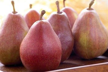 pears with fibre