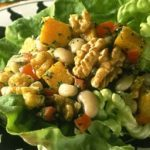 Black-Eyed Pea and Walnut Lettuce Wraps