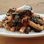 Meatless Monday: Tuscan Penne with Kale and Chickpeas